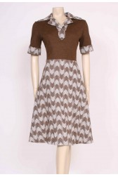Autumn Mod Dress