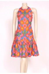 60's Flower Power Dress