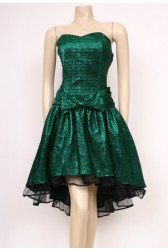 Sparkle Green Party Dress