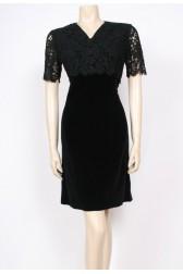 Lace & Velvet 60's Dress