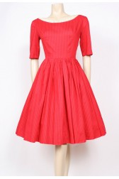 Red Cotton 50's Cutie