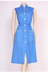 Spotty Blue Day Dress