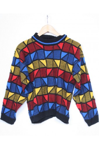 Bright 80's Jumper