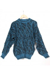 Black & Blue 80's Jumper