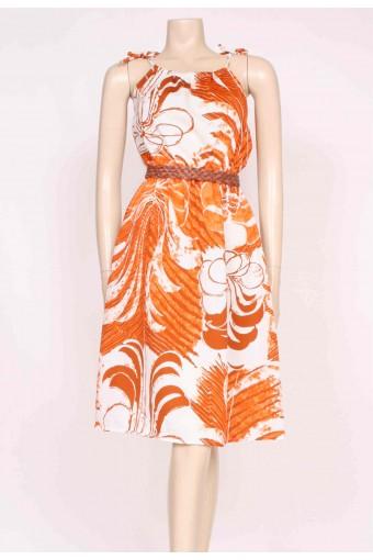 70's Print Sun Dress