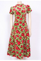 Velvet Roses 50's Dress