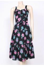 Peony Print Sun Dress
