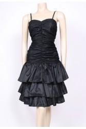 Ruched Ra-Ra Dress