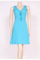 70's Turquoise Mini Dress