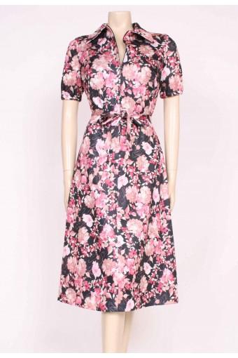 70's Zip Front Dress