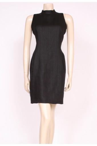 90's Linen Shift Dress