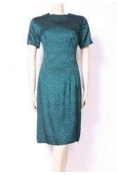 Sea Green Wiggle Dress