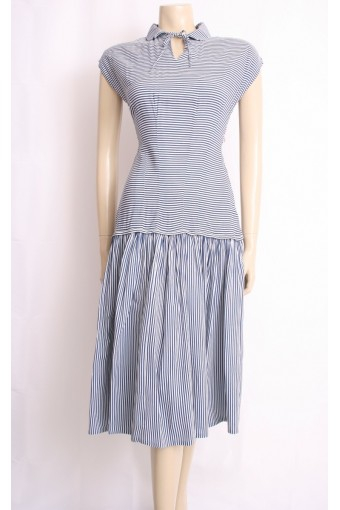 50's Stripe Summer Dress