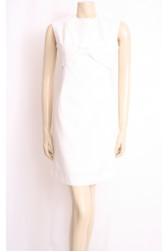 White 60's Shift Dress