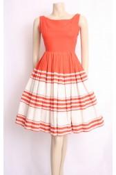 50's Alvilette Cotton Dress