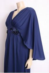 Maxi Cape Dress