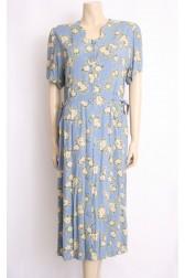 Cornflower 90's Tea Dress