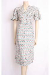 Pansy Flare Dress