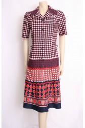 Graphics 70's Dress