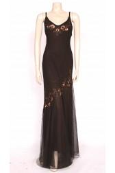 Bias Sparkle 90's Dress