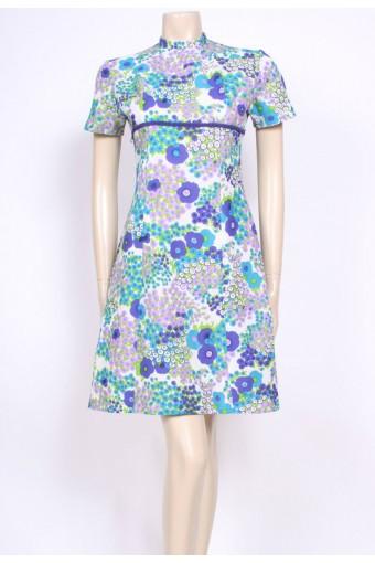 Pretty Poppies 60's Dress