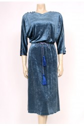 Velour Rope Dress