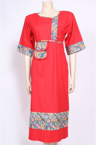 Toggles & Pocket Dress