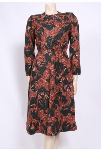 Soft Angora Winter Dress