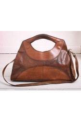 Large 70's Leather Bag