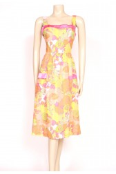 Tutti-Frutti colour sun dress