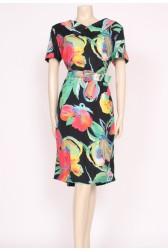 80's bold shift dress