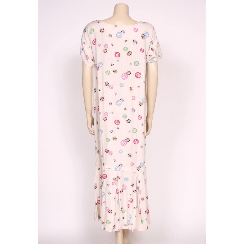 1920's Drop Waist Day Dress