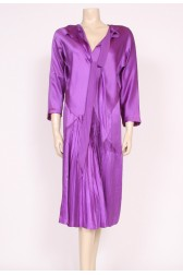 Purple Silk 1920's Dress