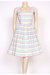 50's candy stripes dress