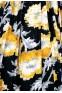 50's black & yellow dress & jacket