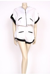 80's short slouchy playsuit
