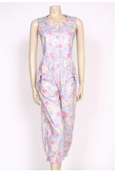 80's Laura Ashley Floral jumpsuit