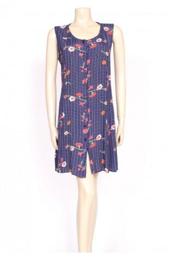 90's poppy mini shirt dress