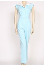 Aqua 70's disco jumpsuit