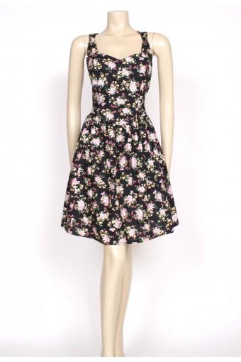 80'S LAURA ASHLEY SUN DRESS